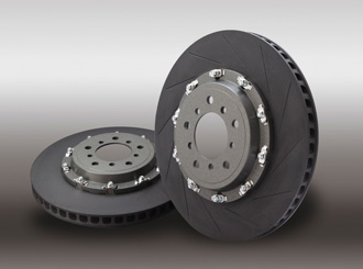 2 piece brake disc rotor assembly